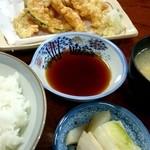 川よし - 『天ぷら定食』¥600-