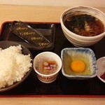 39564462 - 朝納豆定食 350円
