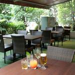 日比谷Bar DINING - 夏にはガーデンテラスが最高です!