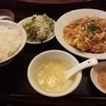 39564581 - 揚げ鶏肉入り麻婆豆腐 850円