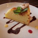カフェ サルーテ - リコッタチーズのケーキ