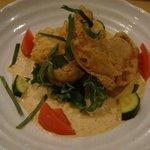 ナチュラルレストラン&デリ みどりえ - 鱈のフリッター
