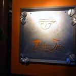 アヴァン プティ・ジョア - お店の看板です。渋いですよね~。petite Joieってオレンジで書いています。