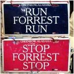 ババ・ガンプ・シュリンプ 東京 - 「RUN FORREST RUN」ジェニーの叫んだ一言でフォレストは走り出します