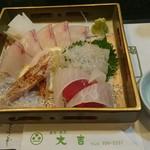 大吉 - 料理写真:刺身の図