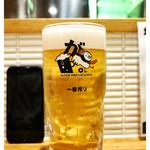 がブリチキン。 - 「生ビール大」(2015.05)