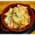 がブリチキン。 - 「明太ポテトチーズ焼き」(2015.05)