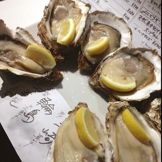 IKI OYSTER BAR - 牡蠣食べ比べセット
