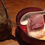 ダイニングバー コビト - トビウオのお茶漬け☆刺身でも食べれるのを使ってるので、めちゃくちゃ美味しいです!!