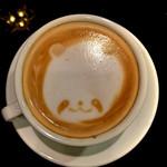 パンダ カフェ - カプチーノ