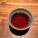 中華キッチン彩家 - 最後に暖かい烏龍茶を出してくださいました〜(*^◯^*)
