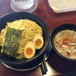 39575158 - つけ麺 + 味付玉子