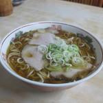 39575480 - 「醤油ラーメン<中盛> (600円)」