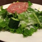 テルチャン - セットのサラダ
