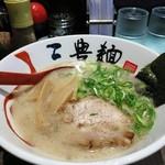 三豊麺 - とんこつらーめん680円