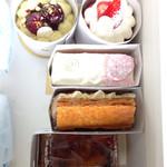 パティスリー リョーコ - 初訪問で買いたいケーキがタイミングよく買えました。