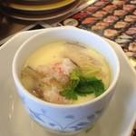 元気寿司 - 茶碗蒸し