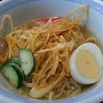 ラーメン王 - 料理写真:日替り710円 ハーフ麺