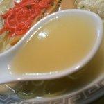 龍虎軒 - ライト系豚骨スープ