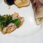 エトワール - 中華 北京抱く 白身魚の蒸し物上海風 いかと小柱のXOジャン