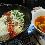 麺屋GAKU - チーズ鶏トマトつけ麺 880円