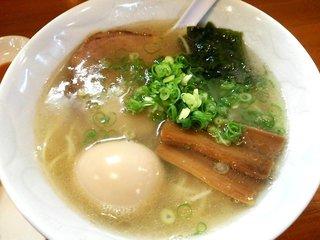 らぁ麺むらまさ - 塩らぁ麺(中):600円に煮玉子:100円トッピング