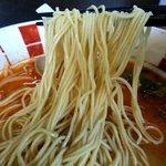 博多麺王 唐津店  - 博多よりの極細麺でした