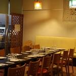 ロイヤルベンガル - 宴会ご予約時のテーブルセッティング例