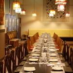 ロイヤルベンガル - 貸切宴会ご予約時のテーブルセッティング例