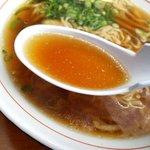 関東軒 - 塩分も出汁もド真ん中のスープでしたw