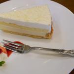銀座 和蘭豆 - レアチーズケーキ