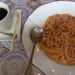 Pasti - メニュー名は忘れましたが、このトマトクリームパスタはなかなか美味しかった。