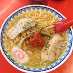 赤湯ラーメン 龍上海 赤湯本店 - 赤湯辛味噌ラーメン
