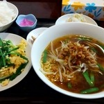 長城飯店 - ニラと卵炒めセット 680円+税