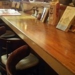 カレーの文化屋食堂 - カウンター