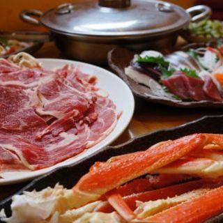 破格の海鮮・しゃぶしゃぶ食べ放題コース