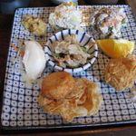 39594157 - 白和え、湯葉団子他、豆腐料理(2015.06)