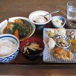 39594158 - 島とうふ屋定食(2015.06)