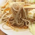 源太郎そば - 肉野菜どっさりそば冷
