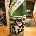 立ち呑み食堂 むしかり - 【琵琶のささ浪】埼玉県、麻原酒造。薄口生、悪くないけどパンチに欠ける。