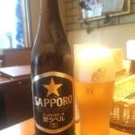 39598527 - かんぱ~い 瓶ビール480円