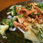 ぢどり亭 - 地鶏たたき、焼酎にあいます