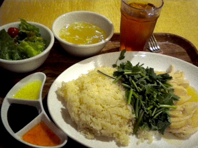 新嘉坡鶏飯