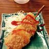 串一さいとう - 料理写真:お通しの串カツ