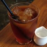 ザグレイビー - TEA≪Ice≫(LUNCHのDRINK SETで+税別\150、2015年5月)