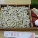 藤治朗 - 天ぷら板そばを注文♪