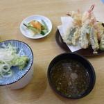藤治朗 - そばつゆと天ぷらつゆが別々なのは嬉しい