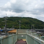 鳴門屋 - 大山崎☆文字通り山が目の前に・・