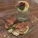 地菜和食 庵 - デザートプレート