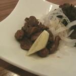 地菜和食 庵 - 砂肝炒め